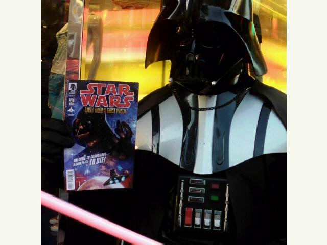 Worst Darth Vader ever